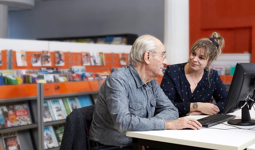 De bibliotheek biedt op verschillende manieren hulp bij de belastingaangifte.