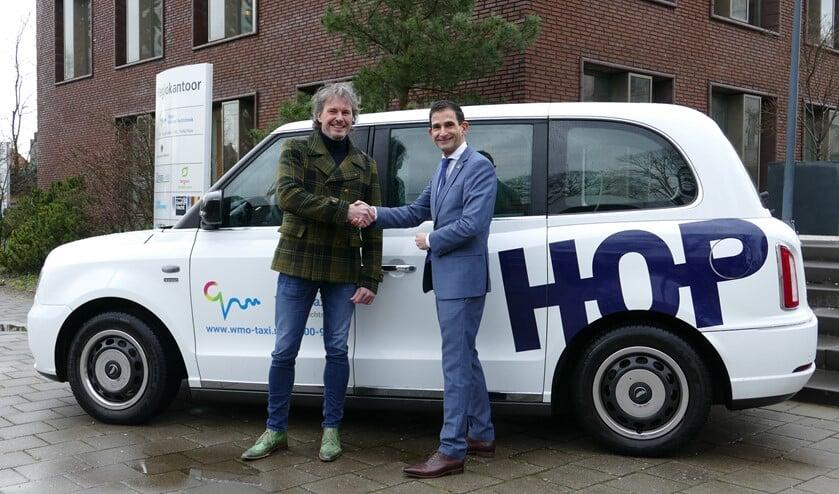 Weethouder Maarten Hoelscher is regionaal de trekker van het project doelgroepenvervoer en blij met het besluit.