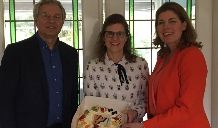 Hugo Bellaart, Lidwien van de Ven en Miriam van Meerten.