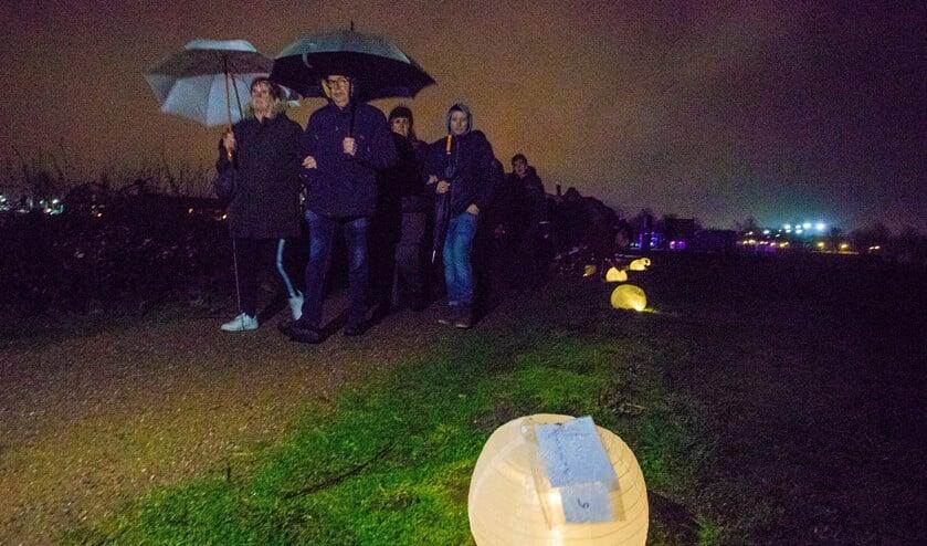 Ondanks het slechte weer bezochten rond de 100 mensen het evenement.