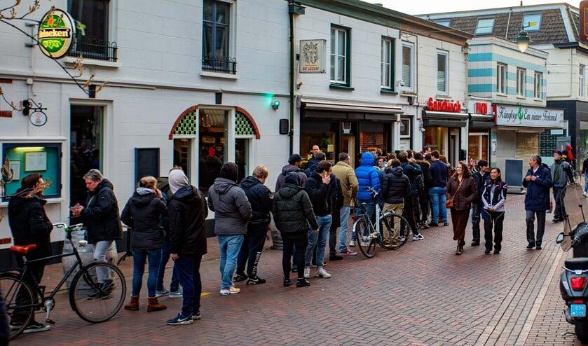 De run op de coffeeshops, nadat de maatregelen waren aangekondigd, bleek niet nodig. Afhalen mag namelijk nog.