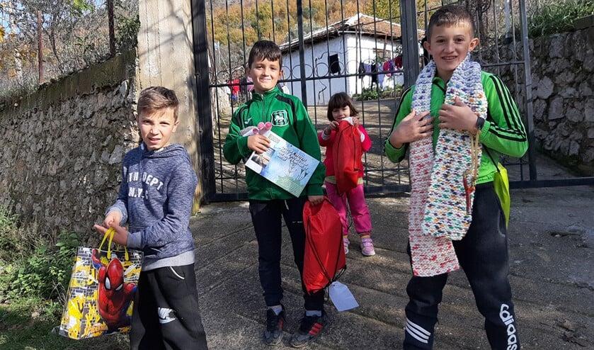 Deze kinderen in Albanië kunnen door het project KANS naar school.