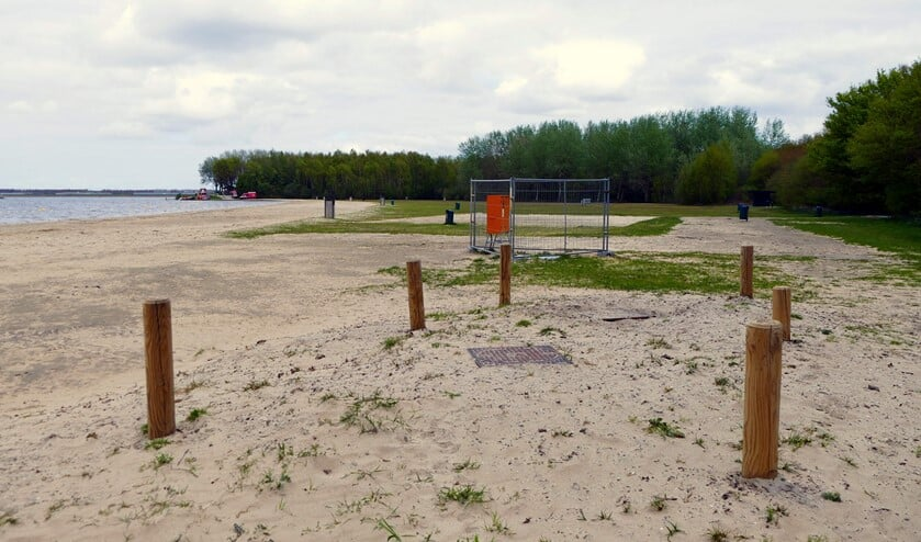 Afgelopen zomer stond hier Blaricum Beach nog.