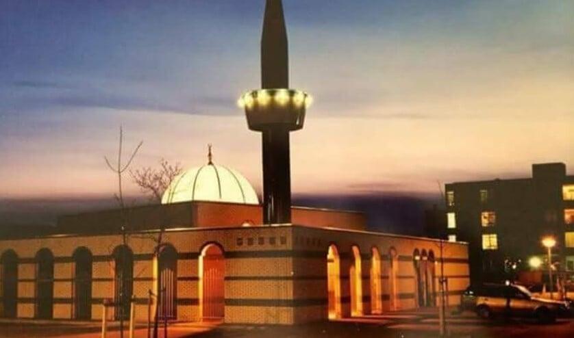 De Selimiye moskee liet vanmiddag een versterkte oproep horen voor het vrijdagmiddaggebed.