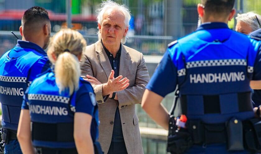 <p>Voorzitter Pieter Broertjes van de Veiligheidsregio Gooi en Vechtstreek.&nbsp;</p>