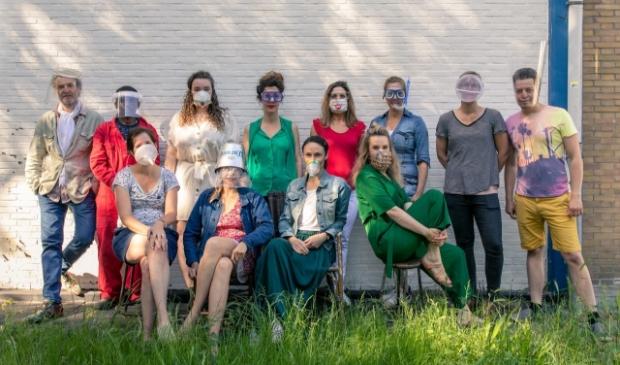 Het team van De Groene Afslag is er klaar voor.