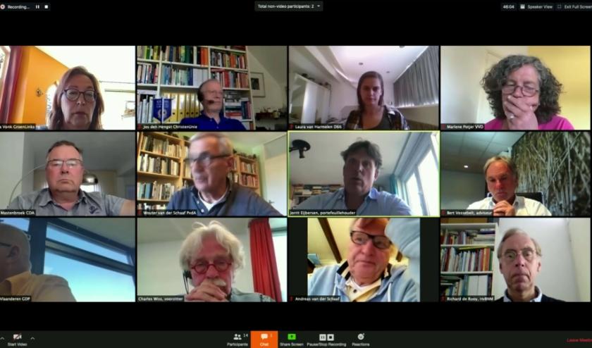 De politieke discussie van afgelopen week met in het midden wethouder Jorrit Eijbersen.
