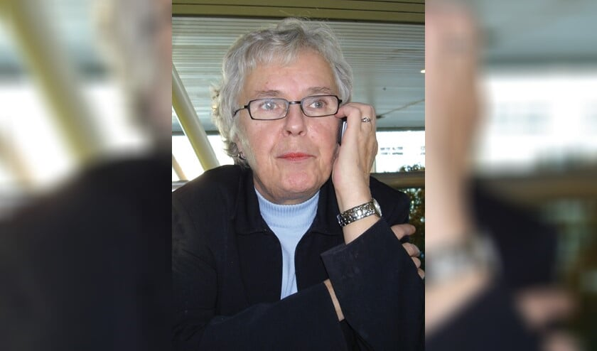 Annemieke Visscher - Fijnvandraat is 79 jaar geworden.