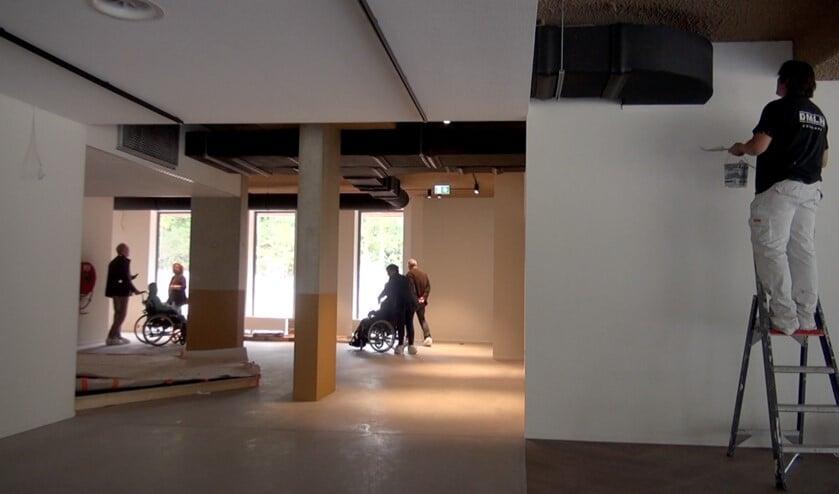 Ook de nieuwbouw komt in de documentaire in beeld.