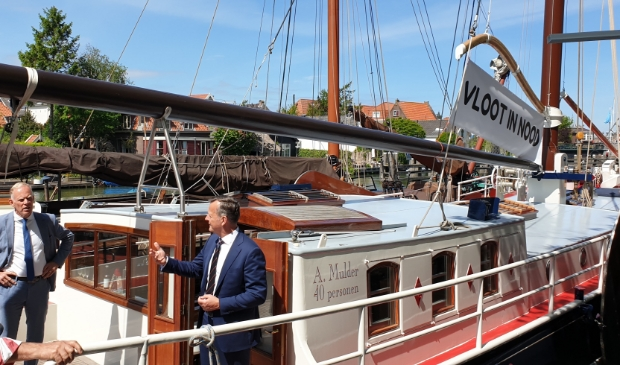 Bruine Vloot in Muiden. Foto:  gemeente Gooise Meren © Enter Media