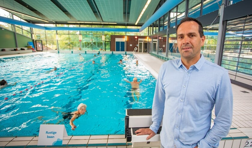 Barry van der Zwart is blij dat Sportfondsen Gooise Meren weer actief is.