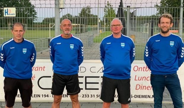Johan Muuren, Raymond Aarts, Cees Boot, Bas van Bergen.