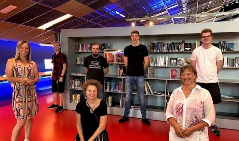 De onderzoekers en bibliotheekmedewerkers die bij het onderzoek betrokken waren.
