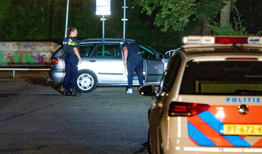 <p>Ter plaatse trof de politie niets aan. (Foto: Bob Awick)</p>