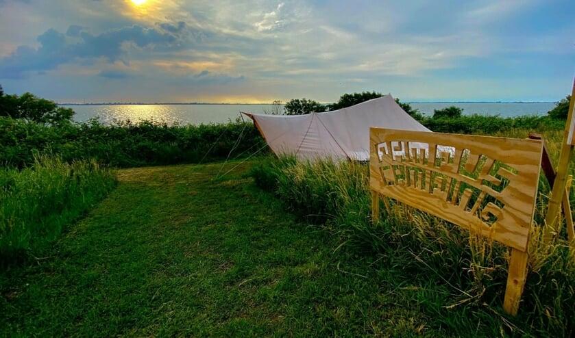Deze zomer slapen met een uniek uitzicht op Camping Pampus
