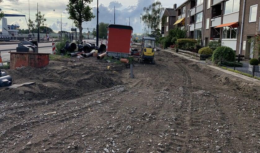 <p>Werkzaamheden tussen Jan Bertsstraat en Arent Krijtsstraat.</p>