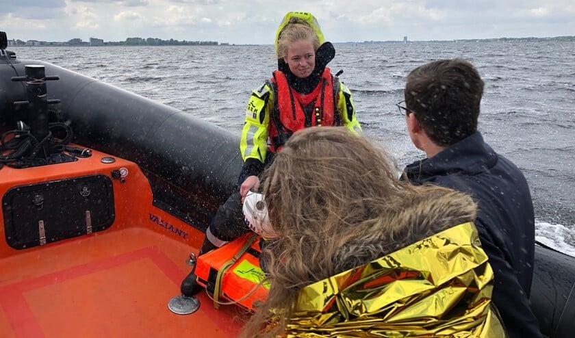 <p>Persoon onderkoeld na stranding met boot op de dijk.&nbsp;</p>