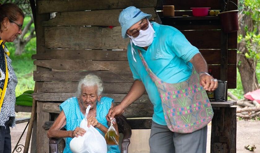 <p>Bewoners van Nandaime hebben het zwaar.</p>