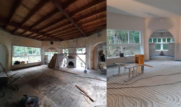<p>Een vrijstaand huis in Naarden uit 1925 wordt volledig gerenoveerd en verduurzaamd.</p>