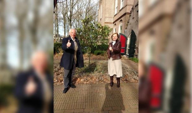 <p>John Gardner en Hanneke Nolten.</p>