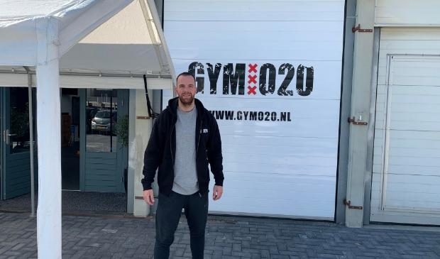 <p>Dax van de Velden voor Gym020.</p>