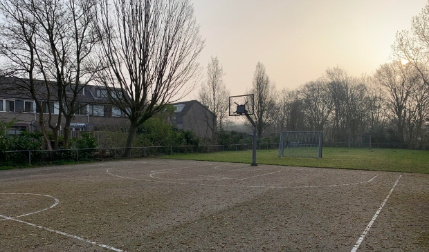<p>De sportvelden in Buitenlust.</p>
