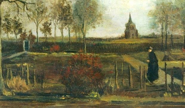<p>&lsquo;Lentetuin, de pastorietuin te Nuenen in het voorjaar&rsquo; van Vincent van Gogh, gestolen op 30 maart 2020 uit het Singer museum. </p>
