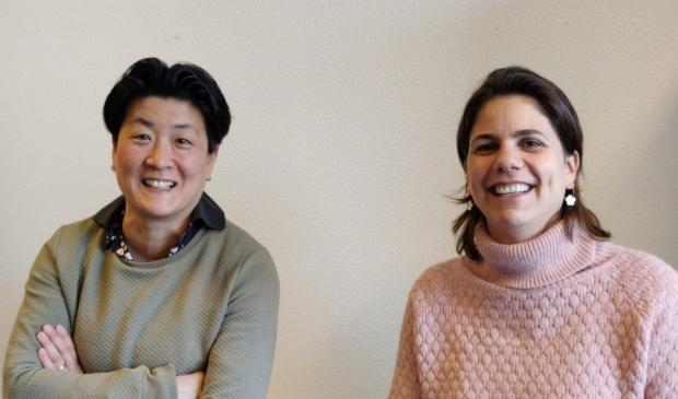<p>Mari&euml;t de Gooijer (links) en Heleen Nauta.</p>