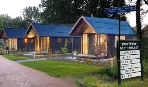 <p>Een voorbeeldfoto van de tiny houses op het Hendrik Smitlaantje.</p>