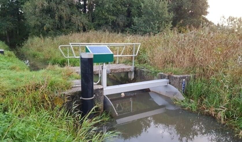 Automatiseren van de stuwen zorgt voor een beter beheer van het waterpeil.