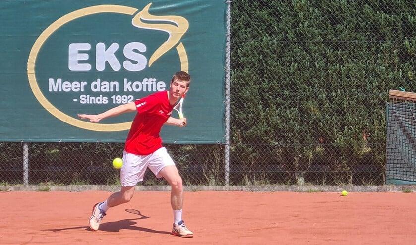 <p>Joris van der Velden speelt al jaren bij Eeckenrode en maakt deel uit van het eerste team.</p>