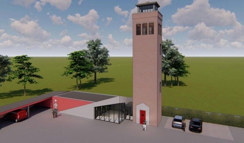 <p>Zo moet het nieuwe brandweermuseum er uit komen te zien. (Foto: Margry Arts Architecten)</p>