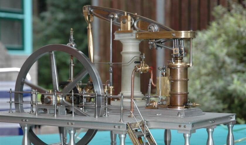 2006: 'Een miniatuur stoommachine'.