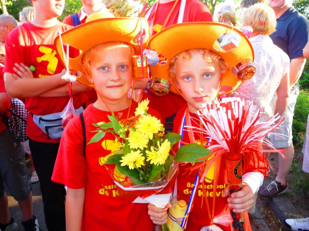 Na een sportieve prestatie volgde ook in 2010 de beloning. Foto: Marijke Drieenhuizen © De Vierklank