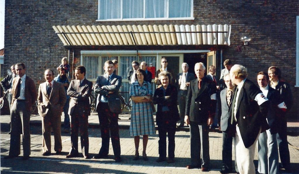 Comité Westbroek Leefbaar organiseerde een 'Open dag in een gesloten dorp'. Foto uit archief van Wout van Winssen. Foto:  © De Vierklank