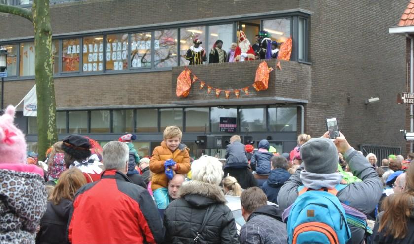 Ook op de Hessenweg in De Bilt was de belangstelling massaal.