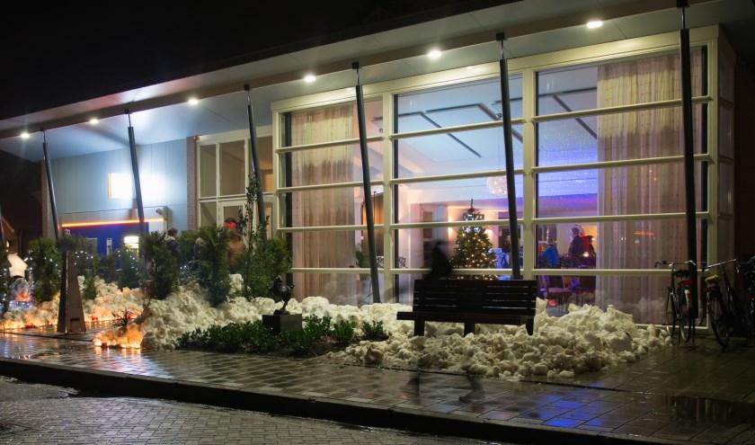 De kerstborrel in Westbroek zal zeker in winterse sfeer plaatsvinden.