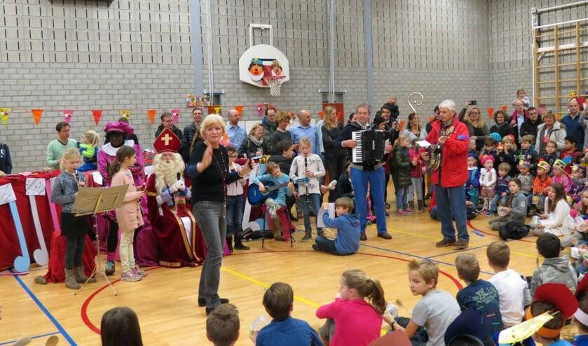 Sinterklaasfeest in het teken van muziek.