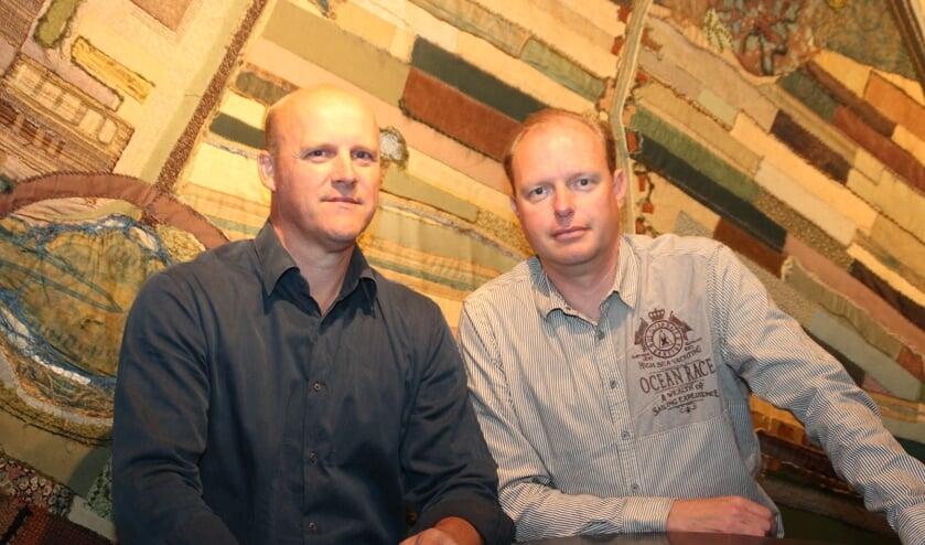 Henny van der Heijden en Edwin Plug vertegenwoordigen de groep Vierstee 2.0.