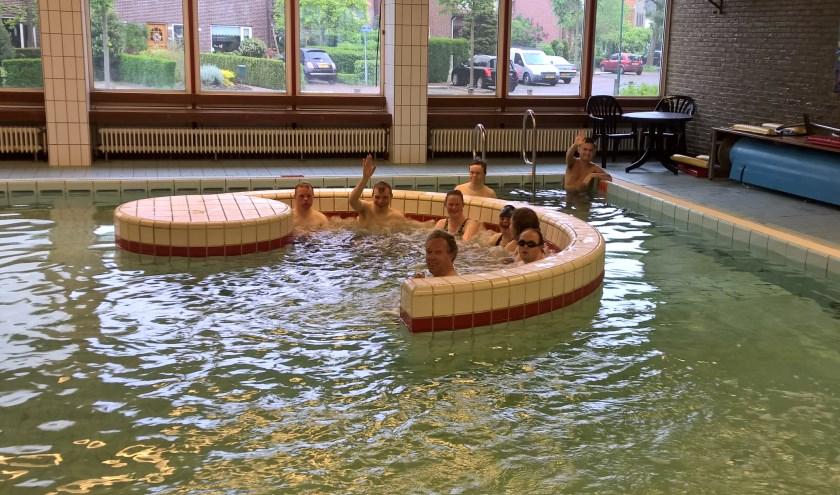 Sportstichting Samen Verder pleit voor een warm-water-bad.