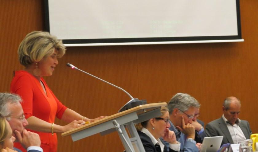 Wethouder Madeleine Bakker juicht de lokale betrokkenheid toe en hoopt dat die in het vervolg van het proces blijft.