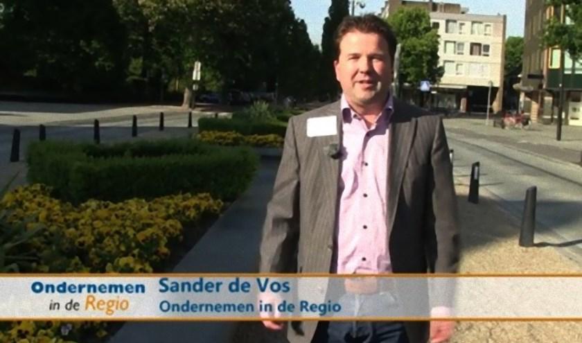 Sander de Vos na radio nu ook op TV.