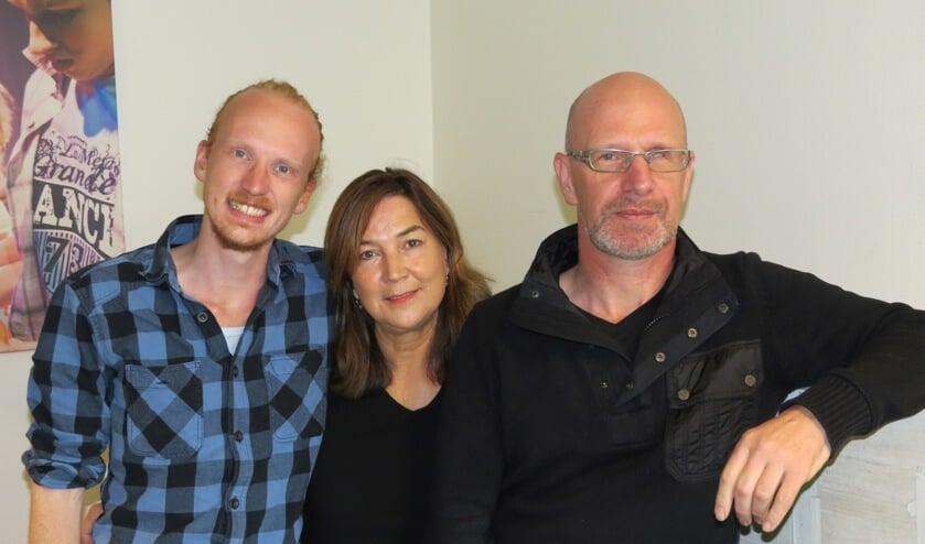 V.l.n.r. Jorn Laponder, Irene Jongbloets en André Arends.