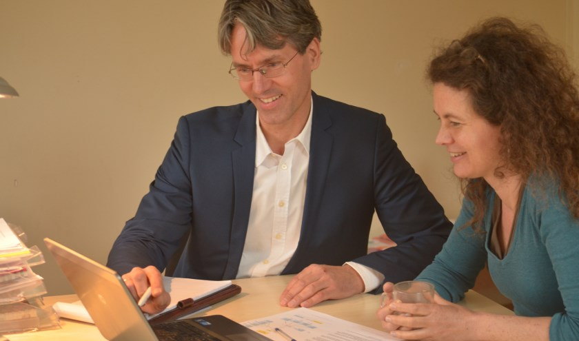 Jan-Dirk coacht mensen op de werkplek.