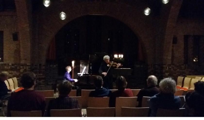 Hulsmann raakt de kern van het musiceren en Bilthoven mag zich gelukkig prijzen met concerten van internationale klasse, zomaar in de Woudkapel.