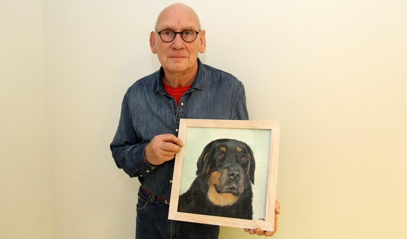 Marcel Jansen is één van de 44 exposanten bij Kunst uit eigen Provincie vanaf 21 december bij WVT. [foto Reyn Schuurman]