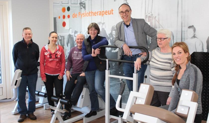 Door te werken in teamverband zorgen we voor continuïteit en flexibiliteit: v.l.n.r. Wim, Anita, Ron, Alma, Rob, Lida en Nathalie.