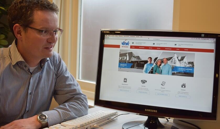 De nieuwe website van Vink biedt volop mogelijkheden.
