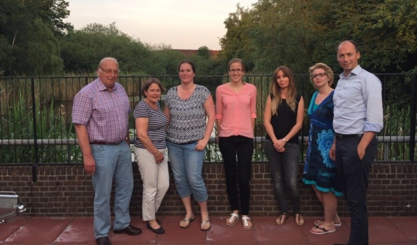 Deelnemers aan de door Beter de Bilt georganiseerde bijeenkomst(-en) maandag 6 juni.