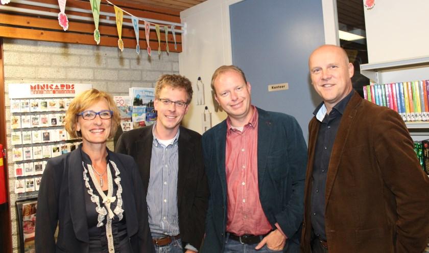 V.l.n.r. Lieneke Geurtsen, Frank Mulder, Edwin Plug en Henny van der Heijden van Vierstee 2.0.